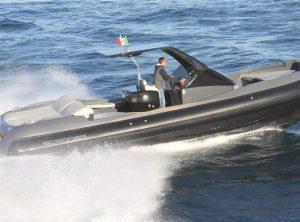 SCANNER ENVY 1100 HT Demo Boat
